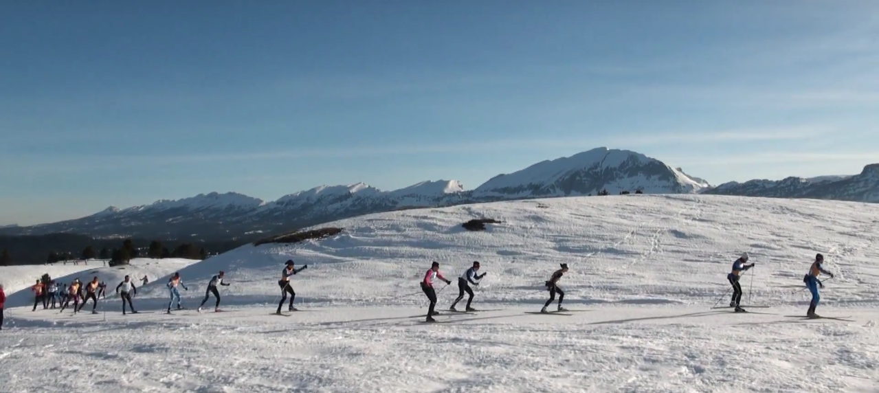 traversée des hauts plateaux à ski de fond
