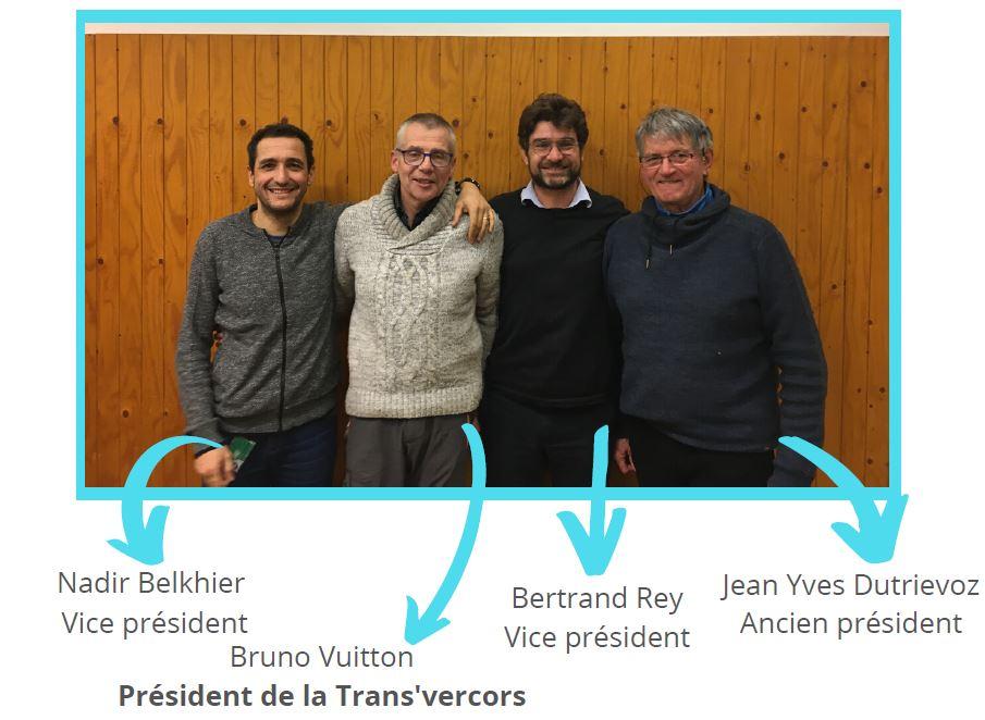 équipe de la Trans'Vercors
